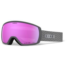 Giro Facet Gogle, titanium zag/vivid pink
